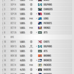 Here is your full 2014 Bills schedule, courtesy of their official website, 30 minutes before NFL's release show: http://t.co/DEiWXcrKdX
