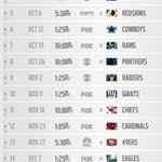 RT @wwbaker3: Hot, damn, #Seahawks Schedule! Prime time galore! #GoHawks RT @TheMichaelGrey Here tis #12s. @Seahawks http://t.co/fJtfiBoXGR