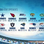 RT @chargers: Here it is, the 2014 San Diego Chargers Schedule! http://t.co/cAVB9QPPXH http://t.co/OZic4vRSWa