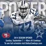 RT @dallascowboys: The 2014 Dallas Cowboys schedule is out! Click here to check it out http://t.co/87WkBZWR2S http://t.co/q8MGNaW6wu