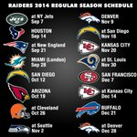 Your #Raiders 2014 schedule! http://t.co/phIndCOvEq