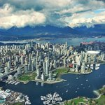 Beautiful day above downtown #Vancouver in the @AM730Traffic Eye in the Sky / @GlobalBC 1. #lovemyjob http://t.co/yqKyuiQ42h