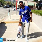RT @Dodgers: Representing USC and UCLA respectively, @NickSwagyPYoung and @JrFarmar will be throwing out the first pitch tonight: http://t.co/RAXPiElxdv