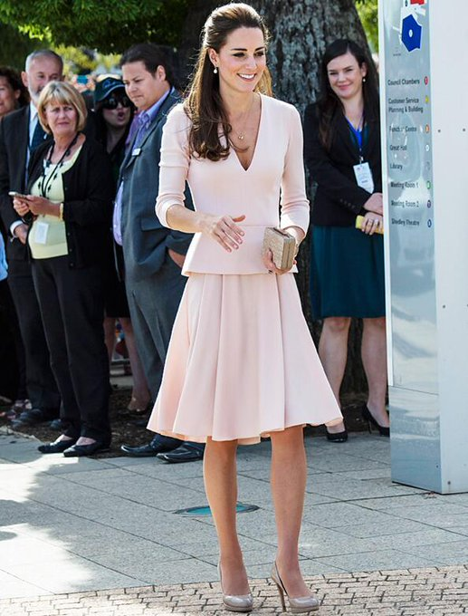 InStyle @InStyle: The Duchess wears @WorldMcQueen and stuns as per usual: http://t.co/2C1EH5sRib http://t.co/F66rvGeyKH