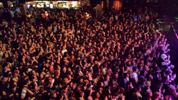 Crowd at the opening of @IGGYAZALEA's tour tonight in Boston. A packed and sold out House of Blues!