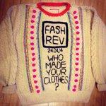 RT @Fash_Rev: Wow!! RT @K2TOGDESIGN: @Fash_Rev jumper all finished for tomorrow to go with my #insideout outfit at @designerjumble http://t.co/Gn2alpQ3oY