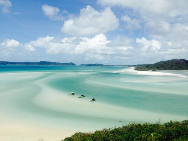 Nice beach!  RT @x_slowe: Whitehaven Beach, The Whitsundays Islands http://t.co/qI1HSmoKnj