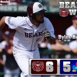 RT @MSUBearBaseball: #MSUBears 6, Kansas 5. Heres the guy who scored the game-winning run. http://t.co/z2lQ0FWgpe
