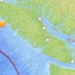 RT @CTVVancouver: Did you feel it? 6.7-magnitude #earthquake strikes off B.C. coast; no #tsunami expected. http://t.co/N71DVz6IZq http://t.co/3LURop9rGW