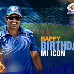 S-A-C-H-I-N... S-A-C-H-I-N !!!  Happy birthday to @sachin_rt! Our Master Blaster is now 41 not out. #SachinTheMIicon http://t.co/k2XPHPMIPn