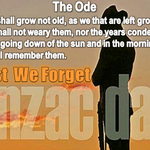 Tomorrow is #AnzacDay & Aussies will pause to reflect on the legacy of our service men and women. Lest We Forget http://t.co/nd8SOW2CQg