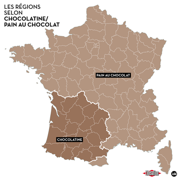 Where a pain au chocolat becomes a chocolatine... http://t.co/IrphzPEsij