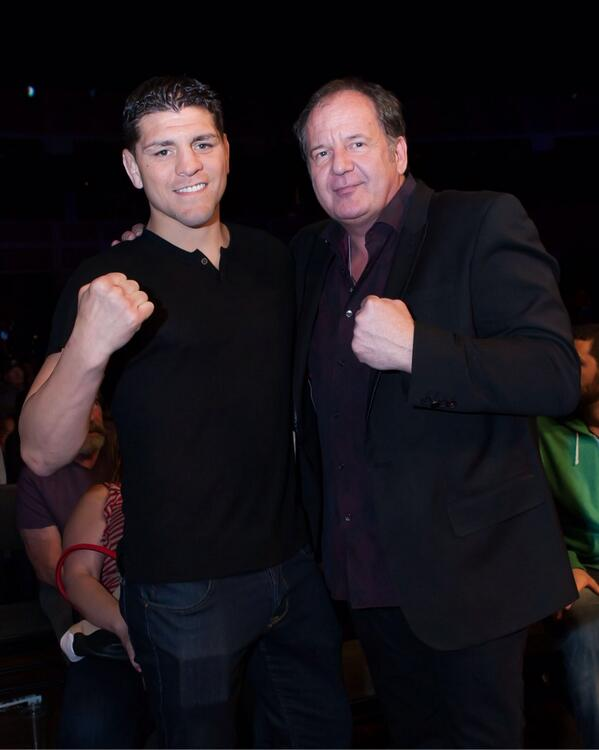 What do you guys think of @nickdiaz209 fighting Muay Thai in @LionFight ? Hey @MikeKogan & @scottLFP is it possible? http://t.co/Em3feqVeYi