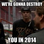 From the Mighty Ducks movie outtakes. What @9modano really told Bombay and the Ducks... http://t.co/DpToviCC7v