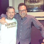 RT @BHGP: Even Tom Arnold is on the Iowa baseball bandwagon. RT @TomArnold: Us Hawkeyes are everywhere! http://t.co/SLPU1jL89l