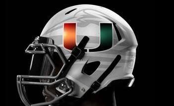 I look hot in the new @MiamiHurricanes helmet http://t.co/fpy9IjSEjc