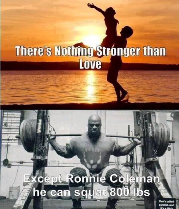 Nothing stronger than love