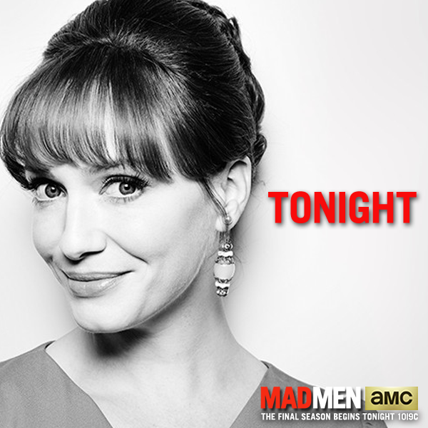 Joan has called a staff meeting – don't be late. The Final Season Begins TONIGHT at 10|9c. #MadMen http://t.co/KR3vhh7R5q