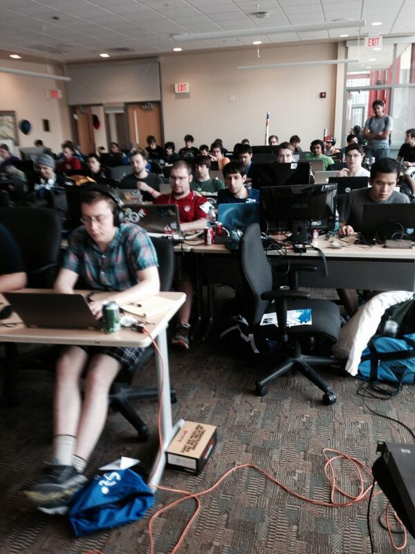 We are at @HackIllinois today! http://t.co/By7CPFrEjB