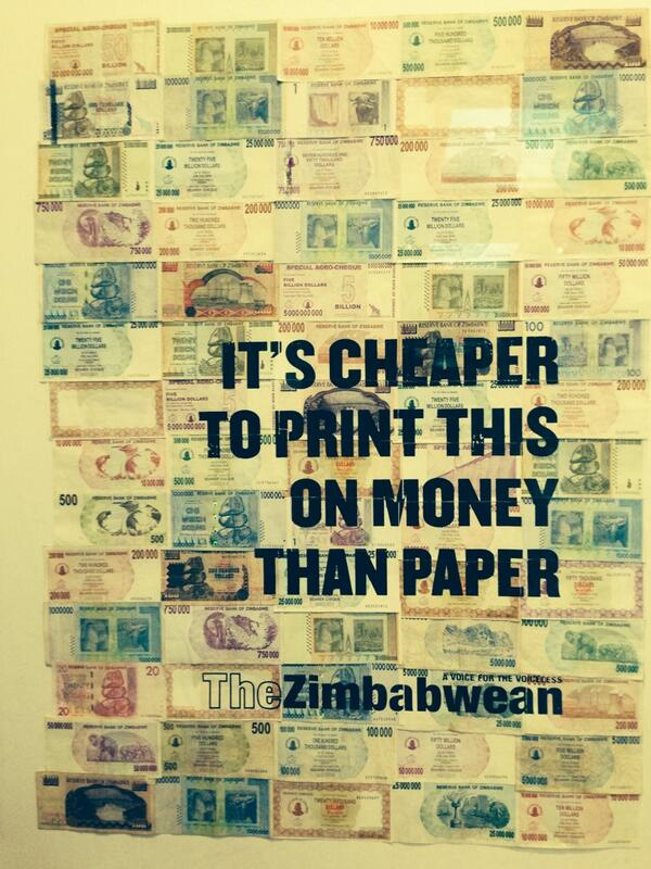 Sad that this is what #Zimbabwe has to offer the British museum http://t.co/QX7ZjkwZyU