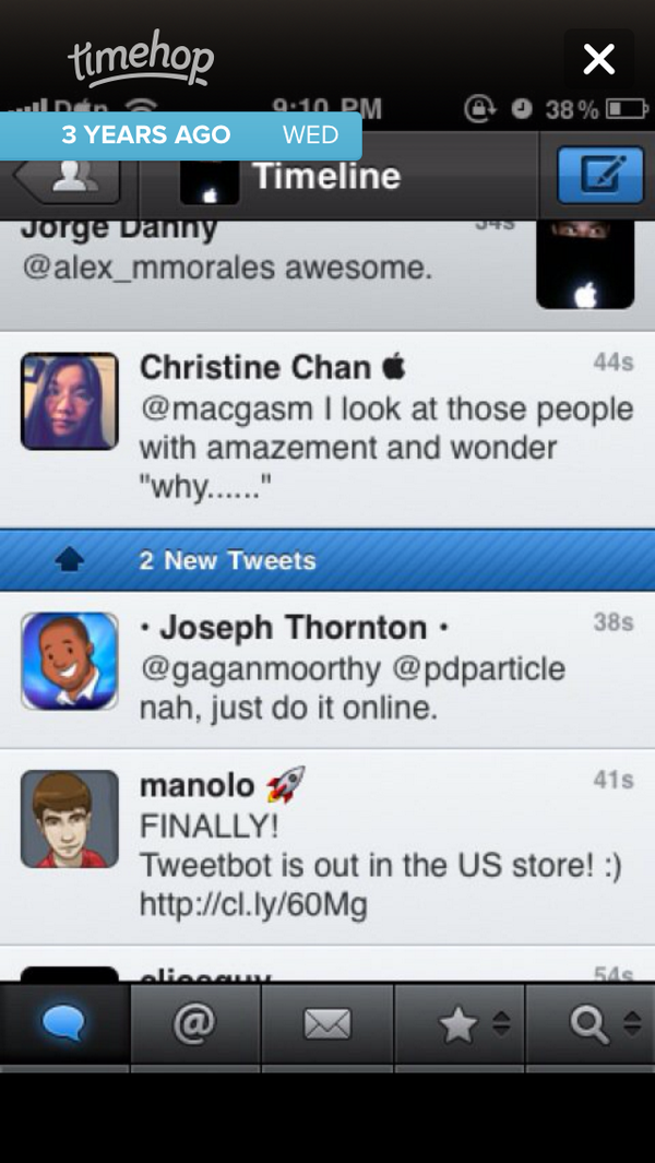 Ah, @tweetbot came out 3 years ago today. Still the best twitter app. http://t.co/lkZDHEoP1s