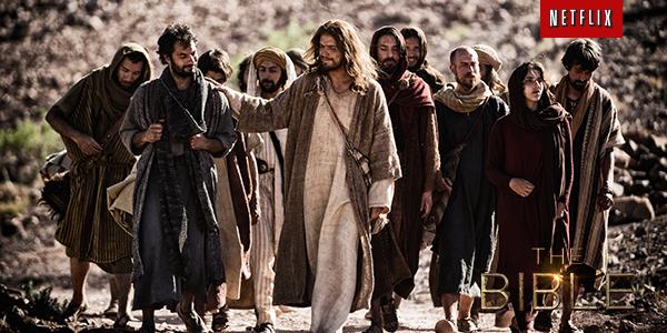 The original dream team. The Bible is #NowOnNetflix. http://t.co/ftdor5vSND