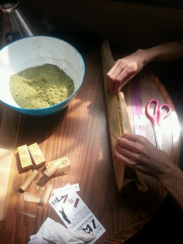 420 Cannabis Canon getting rolled up. http://t.co/xP4oh7XiXr