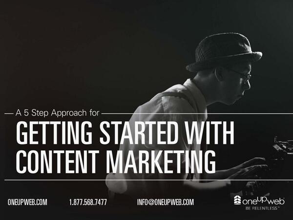 A 5-Step Approach to Getting Started with #Content #Marketing http://t.co/dj1MVYL0Sh #SEO #strategy http://t.co/kpuZJwT4N3