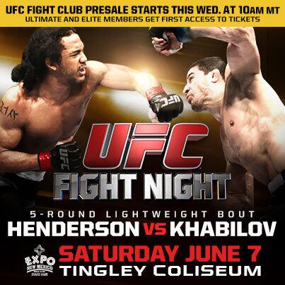 Hey Fight Club! Who's getting their 1st access tickets on Wednesday to #UFCFightNight? http://t.co/CSlvT0edcU