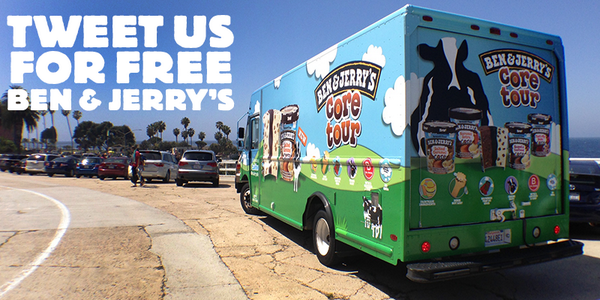 We're on the road! Are you ready, San Diego? @benandjerrys #CoreTour is heading your way for the next few weeks! http://t.co/64D68AGP3E