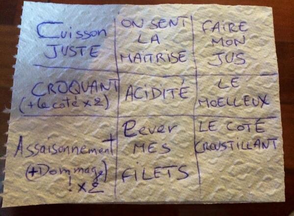 Ma grille de bingo #TopChef http://t.co/pMCVrh5PSO
