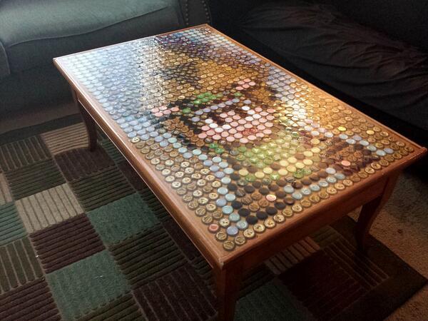 La table basse zelda en capsules de bi res nintendo zelda - Creer une table basse ...