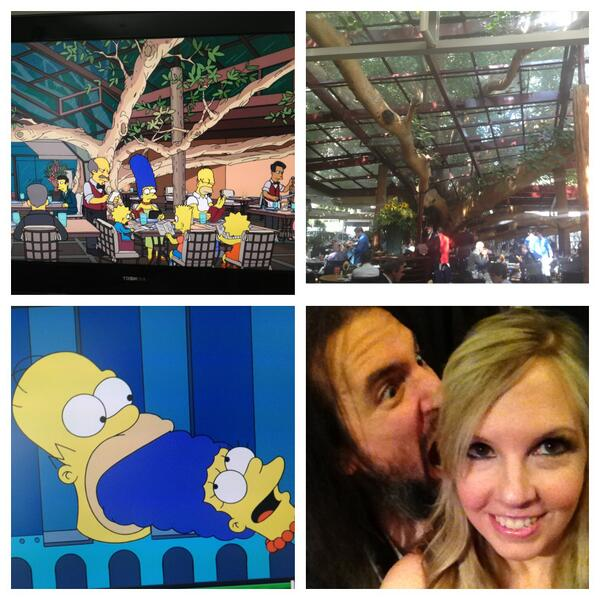 Lately everything we do ends up on @thesimpsons Coincidence? I think not ;) http://t.co/WH87AW03g4