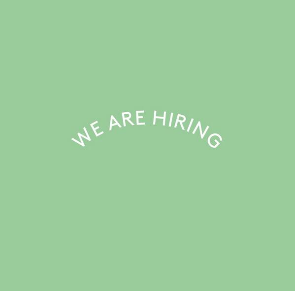 We are looking for experienced and passionate baristas and floor staff. Enquiries@sevenseeds.com.au get in touch! http://t.co/I3jZNQGd6A