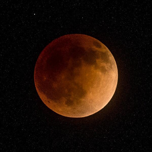 The lunar eclipse - I shot this 20 mins ago in California on the road to Big Sur #bloodmoon http://t.co/1WoNFQkMmi