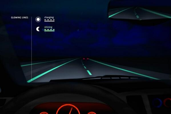 Glow-in-the-dark roads hit the streets in the Netherlands http://t.co/gxTKJc9YNR http://t.co/v61mYeTrff