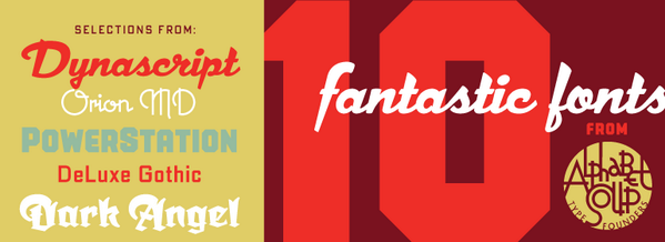 Today only: Get 10 awesome fonts from @AlphbetSoupType for just $49/€37! http://t.co/75CfpDOdx0 http://t.co/ntiWdzBHtM