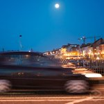 Full moon over the quay #waterford last night, hopped out of car for quick handheld shot… http://t.co/Gs3sjO6947