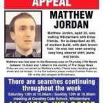 A quick plea for help to my followers -Matty is still missing! Please RT to spread the word! #findmatthewjordan http://t.co/l3MAmq520W