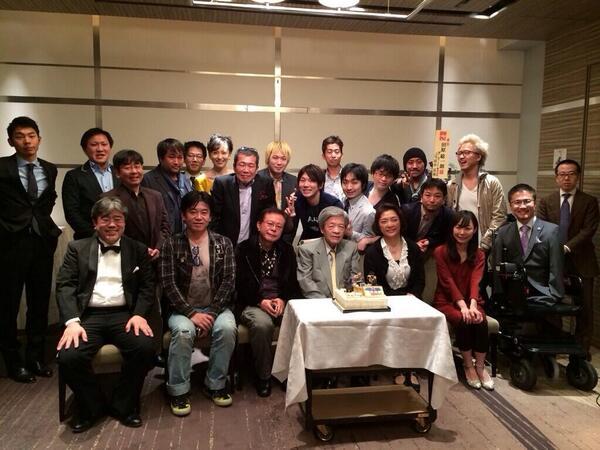 田原総一朗さん80歳のお誕生日おめでとうございます! @namatahara http://t.co/hxZd5yTNrR