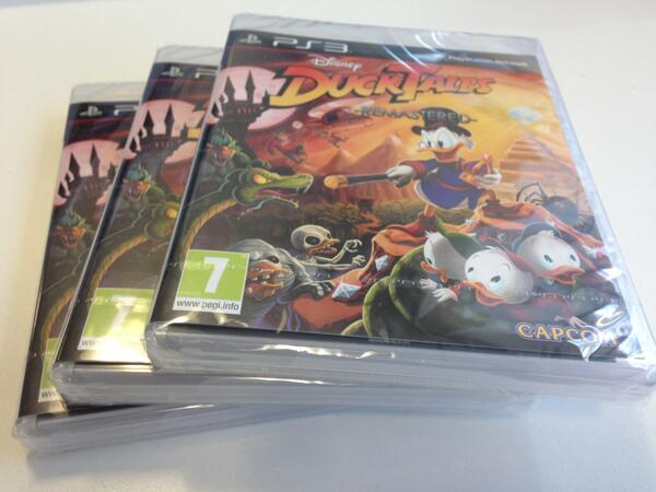 Time for a new comp. RT and Follow to win 1 of 3 copies of DuckTales: Remastered on PS3  http://t.co/yZsGv61lW4 http://t.co/oj4WV62NAe