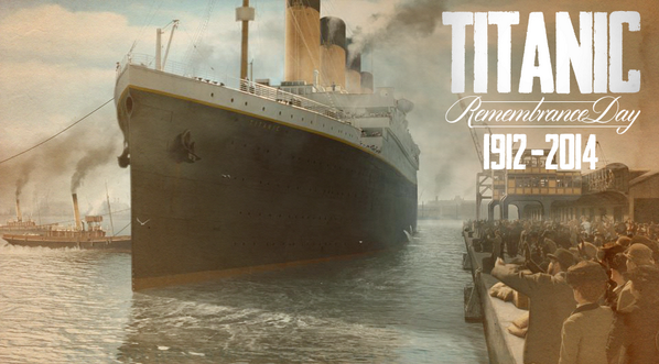 Today we remember those who lost their lives on #Titanic & those who lived to tell the story. #TitanicRemembranceDay http://t.co/fqXY8t6myG