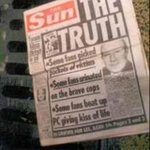 RT @Martinbigpigmor: Anyone who still buys the Sun newspaper needs to take a long look at themselves. #JFT96 #dontbuythesun http://t.co/E0VQGwYs3A