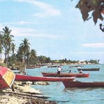 #Antaño Hermosa estampa de la Costa Oriental del Lago. #60s #Zulia http://t.co/vEmGAIucT2