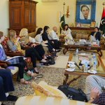 A delegation of 9 American journalists called on #PPP Patron-in -Chief @BBhuttoZardari, today at Bilawal House - http://t.co/gg8SbxWsOc