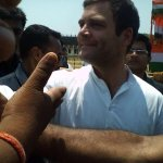 RT @rachitseth: Rahul Gandhi Rally Fever- Glimpses from various rallies! #MyVoteForCongress http://t.co/Gd3sAM70yl
