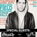 RT @UNI_CAB: CONTEST: RT for a chance to win 2 FREE TICKETS to @HoodieAllen live at UNI on 4/24. Winner announced Monday! http://t.co/QxAusJEhsu