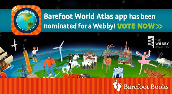 Spin the world! Our BF World Atlas app is nominated for @TheWebbyAwards. @touchpress http://t.co/4PuOmQ2XUW http://t.co/ZAtAFFGMYO