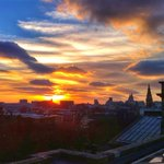 Sunset over Liverpool. May The 96 rest in peace. #JFT96 http://t.co/p644wgveht