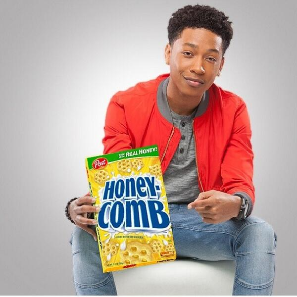 CWE congratulates @jacoblatimore - the new Brand Ambassador for #Honeycomb cereal! Get ready for a great summer! http://t.co/naQ7QpMX0t